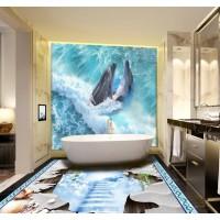 Панно из плитки в ванную