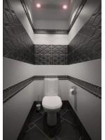 Плитка в туалете: дизайн