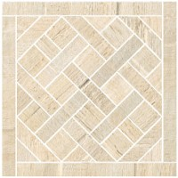 57379 Mosaico Carre Ecru 20x20