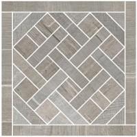 57381 Mosaico Carre Gris 20x20