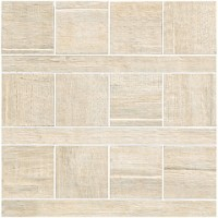 57387 Mosaico Texture Ecru 20x20