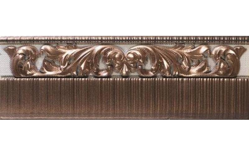 Керамическая плитка Бордюр Zocalo Crayon Bronze 12x31.6 Ape Ceramica 78797429