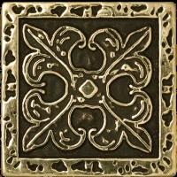Керамическая плитка  для пола с орнаментом BronzoDecor 1060919