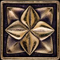 Керамическая плитка  для пола с орнаментом BronzoDecor 1060921