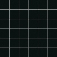 М589 NERO Mosaico 5x5 Su Rete 30Х30 30x30