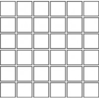 М443 FIENO Mosaico 5x5 Su Rete 30Х30 30x30