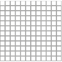 С116 NAVONA Mosaico 2.5x2.5 Su Rete 30Х30
