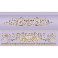 Керамическая плитка  бордюр Ceramique Imperiale 13-01-1-25-43-57-688-0