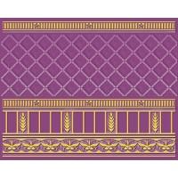 Керамическая плитка  фиолетовая Ceramique Imperiale 05-01-1-93-03-56-886-0