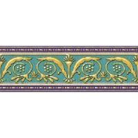 Керамическая плитка  бирюзовая Ceramique Imperiale 05-01-1-93-03-71-905-0