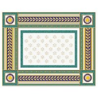 Керамическая плитка  бордюр белая Ceramique Imperiale 05-01-1-93-03-71-908-0