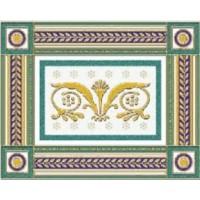 Керамическая плитка  бордюр белая Ceramique Imperiale 05-01-1-93-03-71-909-0