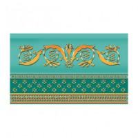 Керамическая плитка  бирюзовая Ceramique Imperiale 13-01-1-25-43-71-910-0