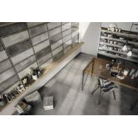 Diesel living with Iris Ceramica Industrial Glass