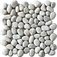Мозаика матовая белая 1060905 Intermatex
