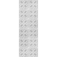 LBU093D Lissabon рельеф квадраты серый 25х75
