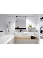 Белая плитка в интерьере ванной: как сделать красиво