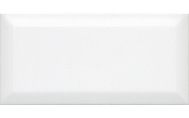 Керамическая плитка 19040  Бланше белый грань 20х9,9 20x9.9 Kerama Marazzi (Россия)