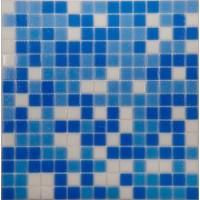 MIX14 бело-синий (бумага) 32.7x32.7