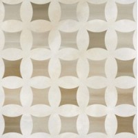 Camelia 511 DECOR CAPPUCINO&PEARL WHITE LAPPATO 60x60