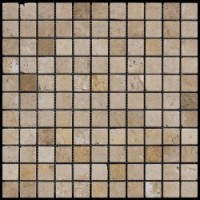 M090-25P (Travertine) Травертин 25х25 305х305