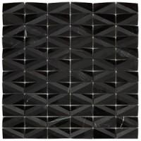 RO03MS408 Mosaico Net Black 30x30