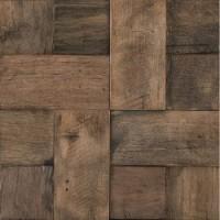 L241712871  Wood Square Aged 3D 29,7x29,7 29.7x29.7