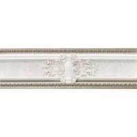 Керамическая плитка  бордюр белая Azulejos Alcor SL 78796526