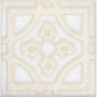 STG/B406/1266 Амальфи орнамент белый 9.9*9.9