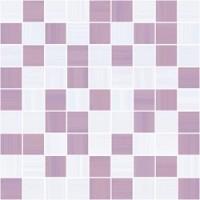 Stripes лиловый+серый 30x30