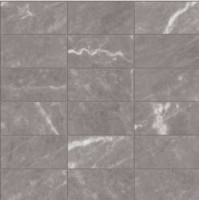 mar013 Lucido BARDIGLIO IMPERIALE Mosaico 5x10 29.5Х29.5 (10 мм) 29.5x29.5