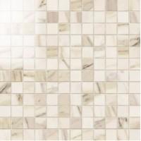 IMP334L  Mosaico 2,5x2,5 Lapp. Calacatta Beige 30Х30 30x30