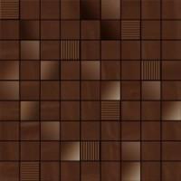 TES78270 MOSAICO PERLAGE CACAO 31,6x31,6 31.6x31.6