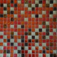 Мозаика для фартука белая DGS016 Keramograd