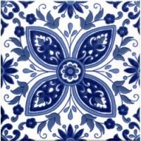 E00854T10010  Zina Bleu 20x20