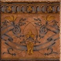 929127 Декор JAVALAMBRE-2 TERRA Vives Ceramica 31.6x31.6