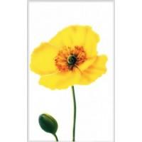 340031 Моноколор Цветок Желтый 25x40