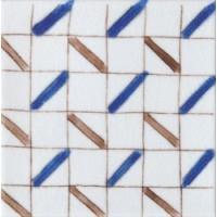 Керамическая плитка  белая 10x10  Diffusion Ceramique DOA1010C02