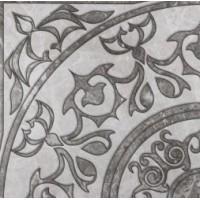 Fiori Di Pesca CORNER DECOR WHITE & GREY GLOSSY 60x60