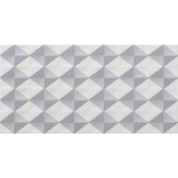 Decor Kefren Blanco Brillo 30x60