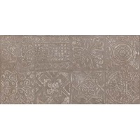 Dec.Patchwork Brown Lap 30x60