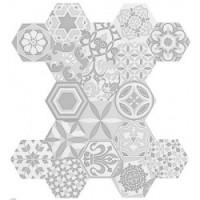 Керамическая плитка  шестиугольная (соты) Cifre 904009