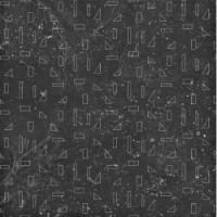 4100438 Outline Black B 20x20