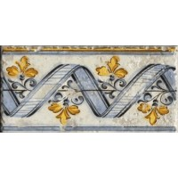 924768 Декор TABICA PARDOS NACAR Vives Ceramica 5.5x31.6