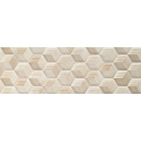 BE1196C  Beige Experience Cube Crema Velluto RT 32x96.2