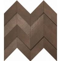 A1DO Dwell Brown Leather Chevron 3D 30.8x35.1