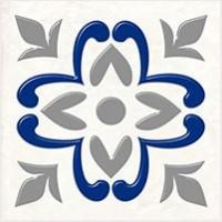 Керамическая плитка  для ванной синяя 04-01-1-02-03-06-1001-2