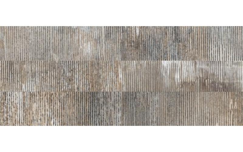 Керамическая плитка В52814 105876 Alloy Lead 3D Ret  31.2x79.7 Naxos (Италия)