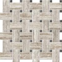 ITALIAN ICON VEIN Cut Chesterfield Mix Caldo Mosaico Nat 42,1x42,1