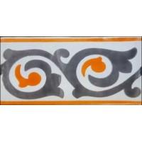 Керамическая плитка  метлахская Diffusion Ceramique TRC7515F07